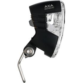Axa Echo 30 Hoofdlamp voor naafdynamo met houder en kabel